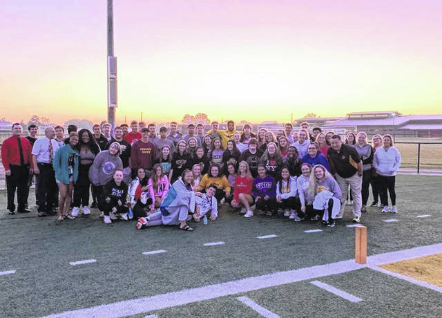 Sidney High School Senior Sunrise