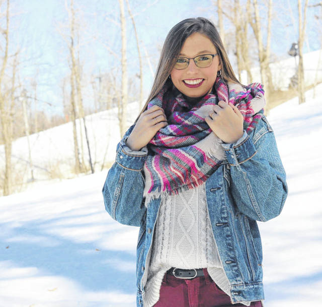 Riverside High School senior Dora-Kennadie Bryant is the the 2020 senior Class President. Dora participated in bowling, BPA, golf, softball, cheerleading. She was voted freshman Homecoming attendant. She was chosen to receive the 2017 Logan coop Trip to Washington DC scholarship. She is volunteer at Campbell Place in Bellefontaine. Dora plans to join the Navy where she would lie to pursue a nursing Career.