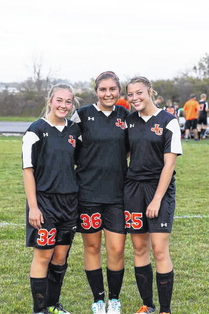 Soccer has been a huge part of my life and I would not be where I am at if soccer wasn't in my life. These two girls are my fellow senior soccer mates and they made my last year of soccer one of the most memorable. I would not have wanted to end my soccer career with anyone else, including the rest of my teammates.