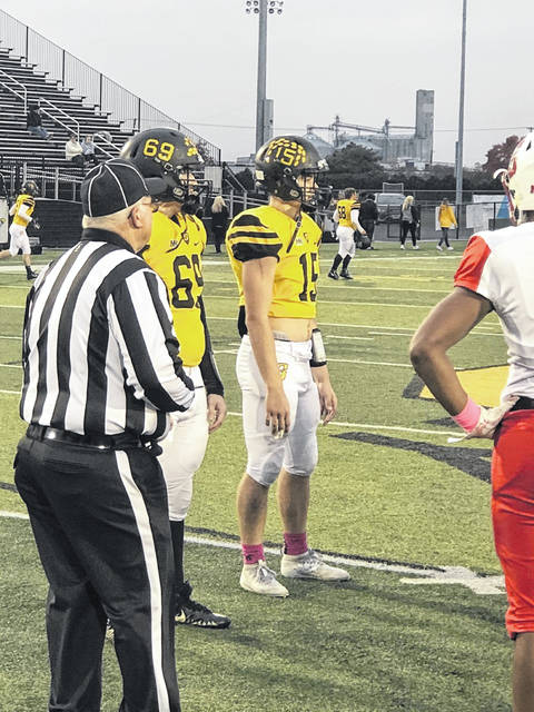 Nick Benshoff and his best friend were captains for the Sidney High School football team their senior year.