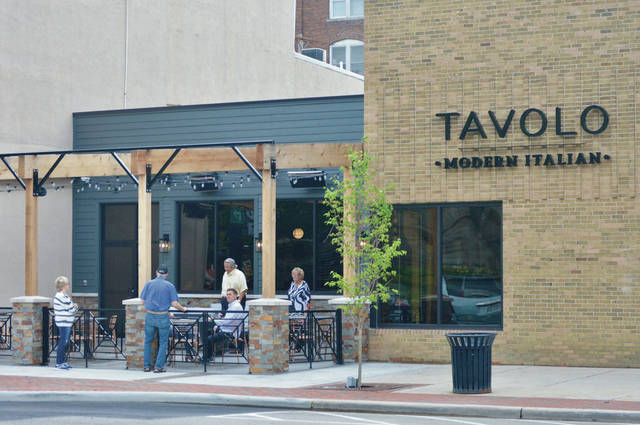 Tavolo Modern Italian has opened as of Friday, May 29 but don't try just walking in. The restaurant is only accepting reservations. The Italian restaurant is booked for today, Friday, May 29.