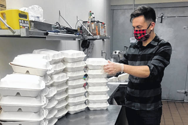 Picnk, a meal delivery business started by William Foster, who earned a bachelor's degree in sports science from Wright State, has provided more than 2,000 meals to people by the coronavirus. Foster grew up in Quincy.