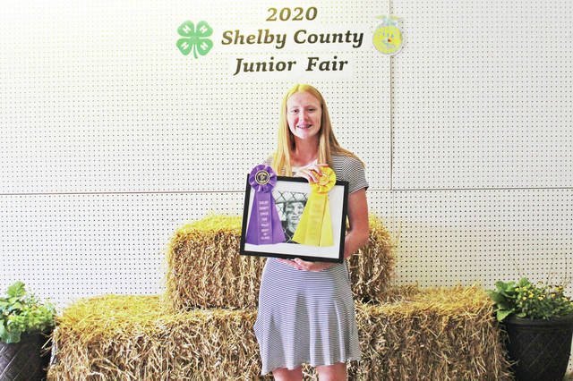 Aubrey Baker won Best of Class (Controlling the Image), Top Ten- Photography (1) during 2020 Shelby County pre fair judging.