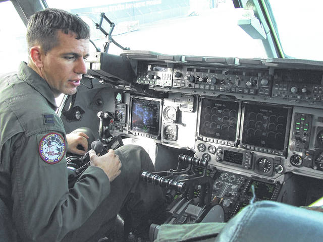 Lt. Col. Philip Poeppelman was a pilot in the U.S. Air Force and, now while on terminal leave, will work for UPS Airlines and in addition to doing some farming. He will officially retire from the military on Sept. 1.