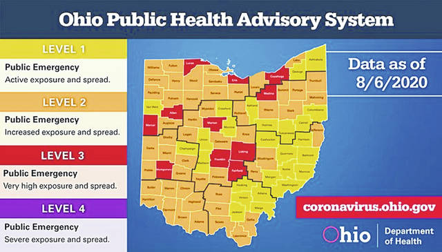 Logan County moves to COVID-19 alert level orange