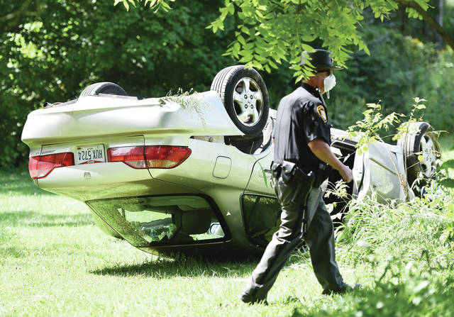At 1:56 p.m. on Friday, Aug. 28, a Honda Accord flipped while taking some sharp turns on the 9600 block of Cisco Road. No one was injured in the crash. The Shelby County Sheriff's Office responded to the scene.