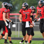 Football: Collin Moore pulling double duty for Fort Loramie