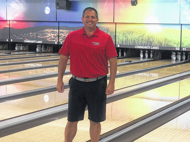 Minster's Community Lanes owner Doug Davidson has remodeled the bowling alley facility.