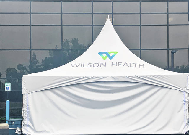 A COVID-19 testing drive-thru site will be located on Wilson Health's main campus at 915 W. Michigan St. in Sidney.