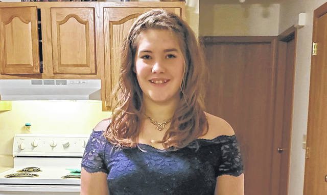 Raelynn Pebernat, a 15-year-old sophomore at Botkins Local School, was found safe Tuesday afternoon after being reported missing in Huntington, Indiana.