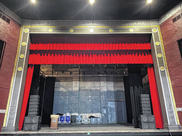 Match Day gifts will help purchase a new, high quality screen for the Historic Sidney Theatre. Extensive restoration continues through the group Raise the Roof for the Arts.