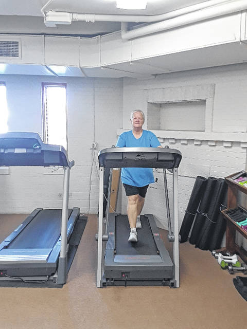 Thanks to 2019 Match Day gifts, the Senior Center of Sidney-Shelby County replaced broken treadmills in their exercise room with new ones ready to handle lots of steps.