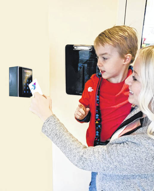 2020 Match Day gifts support enhanced security at the Y's Child Development Center with access cards at entryways.