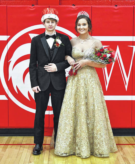 Houston High School crowned its homecoming king and queen for 2020-21. The king is Wyatt Kunk, son of Aliana Mabelitini and Jeff Kunk. The queen is Catryn Mohler, daughter of Curt and Paula Mohler.