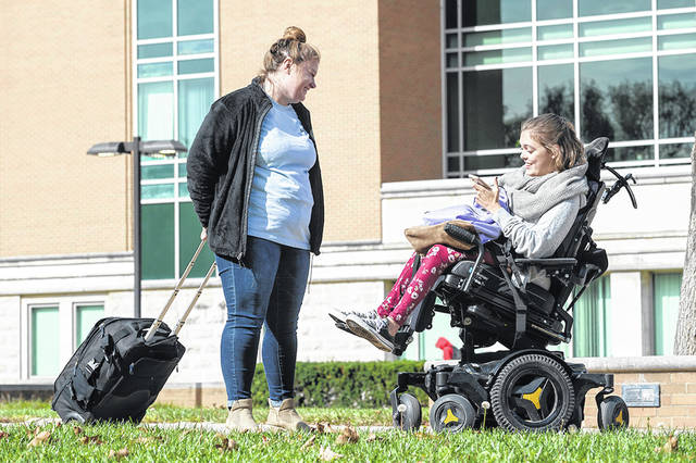New Mobility magazine and the United Spinal Association ranked Wright State University No. 3 in the nation for its wheelchair-friendly features and accessibility.