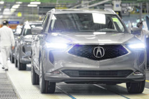 Honda launches production of all-new 2022 MDX