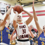 Girls basketball: Fort Loramie runs away late from Russia