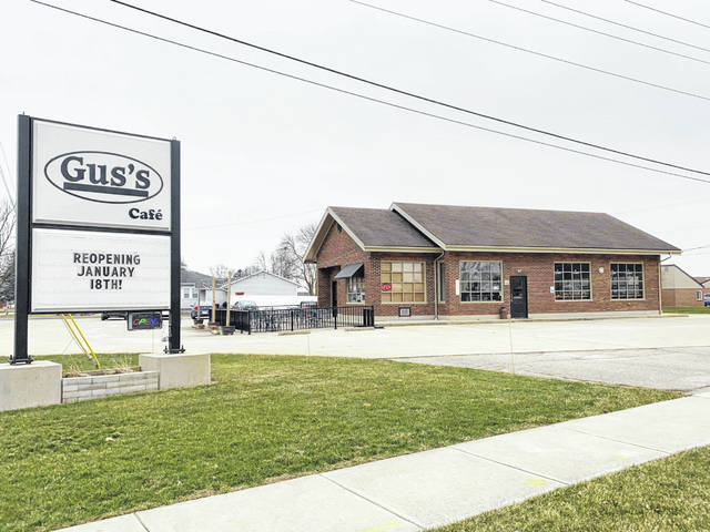 Gus's Café in Versailles will be open from 6 a.m. to 2 p.m., Monday through Friday, starting Jan. 18.