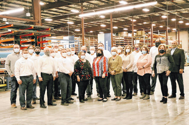 Pictured is the staff of KLINGER Thermoseal's Sidney location.