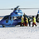 CareFlight transports 2 after crash
