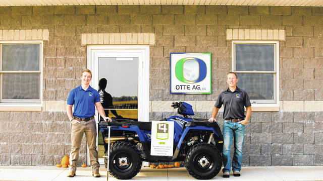 Otte AG, LLC is now 4R Nutrient Stewardship Certified. Employees pictured, left to right, are Marc Otte and Kevin Otte.
