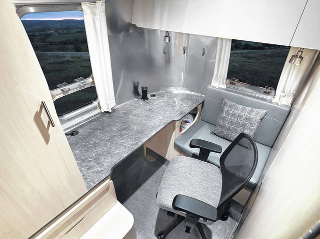 Airstream was honored for its all-new Flying Cloud 30FB Office and redesigned Globetrotter 30RB in the Red Dot Product Design 2021 competition. The Flying Cloud 30FB Office features all the amenities necessary to both work and play on the road.