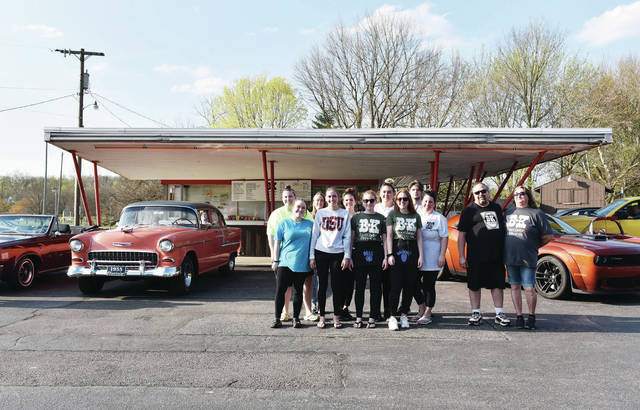 The BK Rootbeer Drive-In staff on Tuesday, April 14.