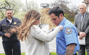 Council meets city's newest firefighter, officer
