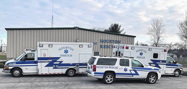 Citing the Houston squads' inability to respond to numerous emergencies over the past few years based on staffing shortages, members of the Houston Joint Ambulance District board recently explained the need for additional levy funding to ensure EMS coverage within portions of Loramie and Washington townships, including the villages of Houston and Lockington.