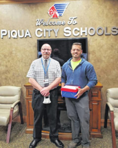 Gover named Friend of the Schools