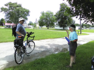 WOBA cyclists roll into Shelby County