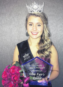 2018 Champaign County Fair queen wins Miss Ohio pageant