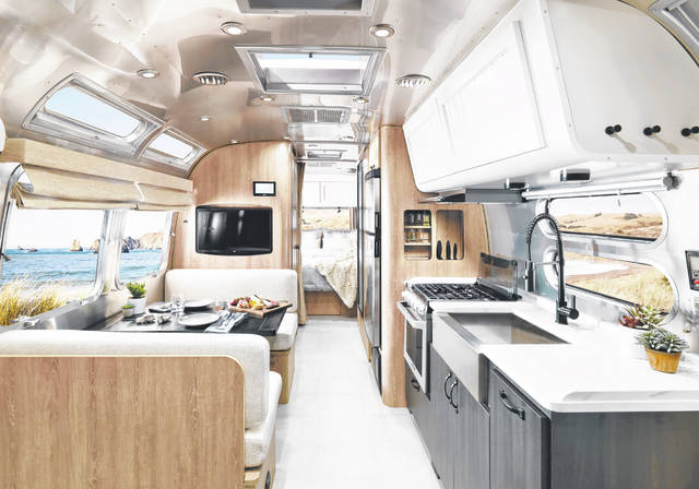 Airstream announced the launch of its new Pottery Barn Special Edition Travel Trailer – a 28-foot Airstream designed in partnership with Pottery Barn.