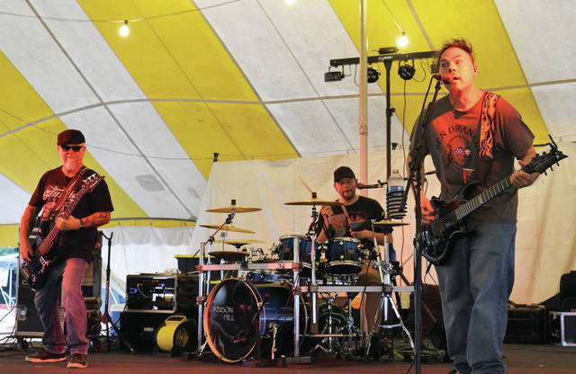 Orbison Hill performs at the Shelby County Fair on Wednesday, July 28.