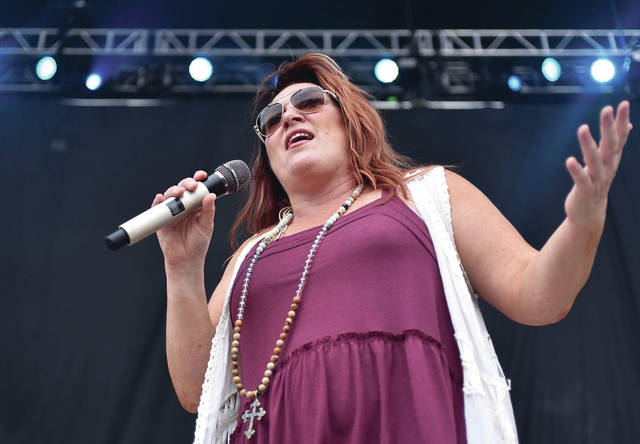 Jo Dee Messina performs at Country Concert Thursday, July 5.