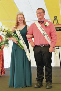 Fair royalty crowned on opening day