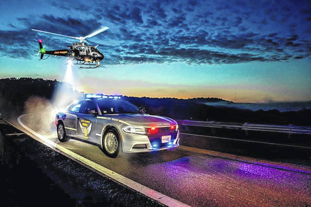 """The Ohio Highway Patrol has enteredn the nationwide """"Best Looking Cruiser"""" contest."""