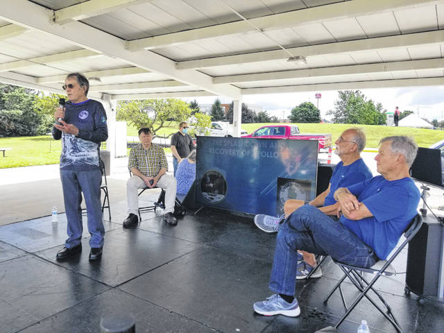 Four frogmen who brought the Apollo 11 astronauts to safety, 52 years ago, spoke about their experiences Saturday at the Armstrong Air & Space Museum.
