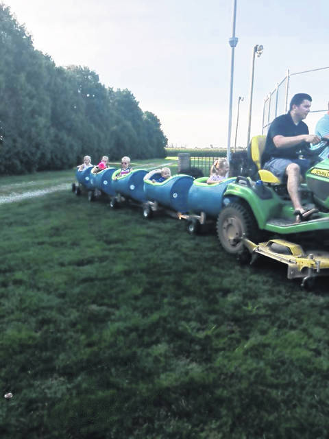 A kiddie train will be at the Sacred Heart of Jesus Parish Picnic.