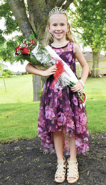 Little Miss Bremenfest 2021 Sophie Elking, 6, of New Bremen, daughter of Kyle and Kelly Elking, was crowned on Friday, Aug. 13.