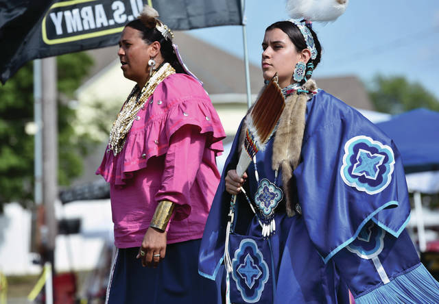 The 10th annual Honoring Our Veterans and First Responders Pow Wow continues today, Sunday, Aug. 22, at the Shelby County Fairgrounds from 12 p.m. - 5 p.m.. The event is free.
