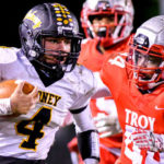 Football: Late TDs cost Sidney in 23-6 loss to Troy