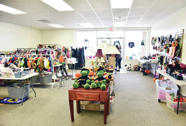 FISH of Shelby County cut the ribbon on its expanded store section which includes a space that where seasonal items will be for sale. Other rooms in the expansion are a larger food pantry and office rooms. FISH of Shelby County is located next to CVS Pharmacy.