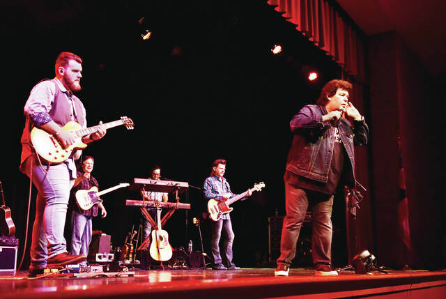 Country music band Shenandoah performs at the Sidney High School Auditorium on Sunday, Sept. 19. They were part of the Gateway Arts Council's Presents Series.