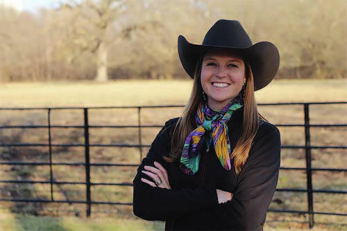 Brandi Buzzard Frobose, rancher, cowgirl and advocate for women in agriculture, spoke to over 60 women in attendance at the 2021 Growing Women in Agriculture Empowerment Celebration held Thursday evening at St. Michael's Hall in Fort Loramie.