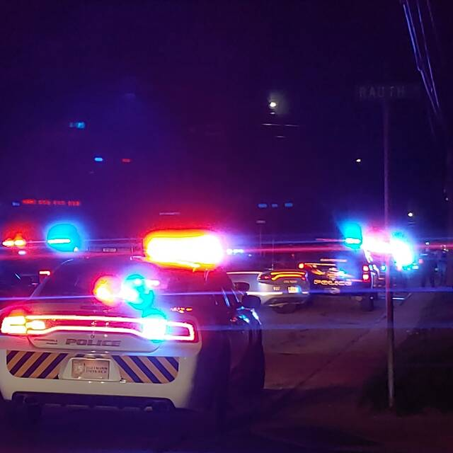 Police search for a man who reportedly shot two police officers near Lynn and Highland. A piqua tactical team has arrived and a helicopter is also assisting.