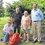 Tree Commission does park cleanup