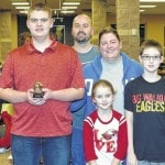 Cam Edwards district Student of the Month