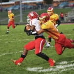Eagles top Wildcats for first win