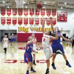Eagles rally past Pioneers 54-50